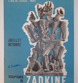 Zadkine Mourlot 1958