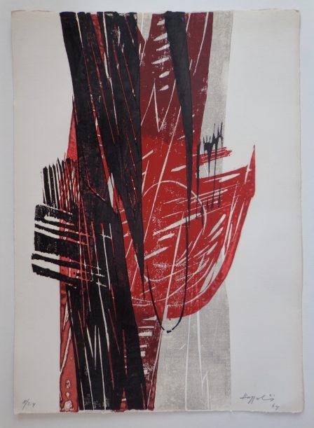 Silvano Bozzolini gravure 1964