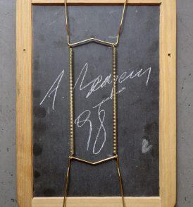Alain Bornain Blackboard 1 verso
