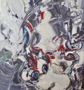 Alkis Pierrakos Peinture 1962