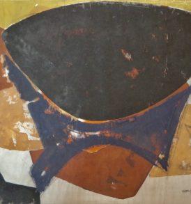Manolis Calliyannis Peinture Gouache 1950