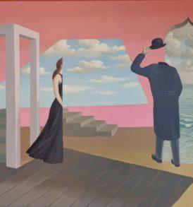 Willi Rondas Rencontre Peinture 1974