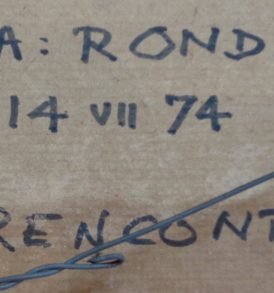 Willi Rondas signature