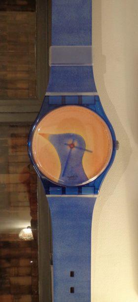 Maxi Swatch Jean-Michel Folon 1993