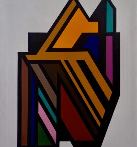 Guy Vandenbranden Painting oil on canvas 1992