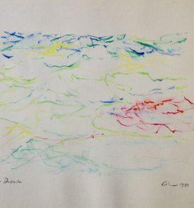 Jacques Calonne dessin 1 1984