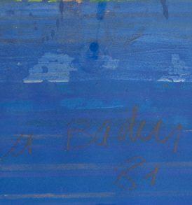Georges Badin signature