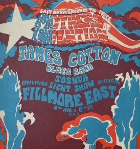 Helen Hersh Bill Graham Mothers of invention Fillmore East 1968