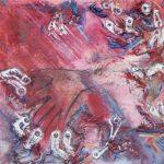 Bob De Groof Furor Eroticus Peinture et collage 2007