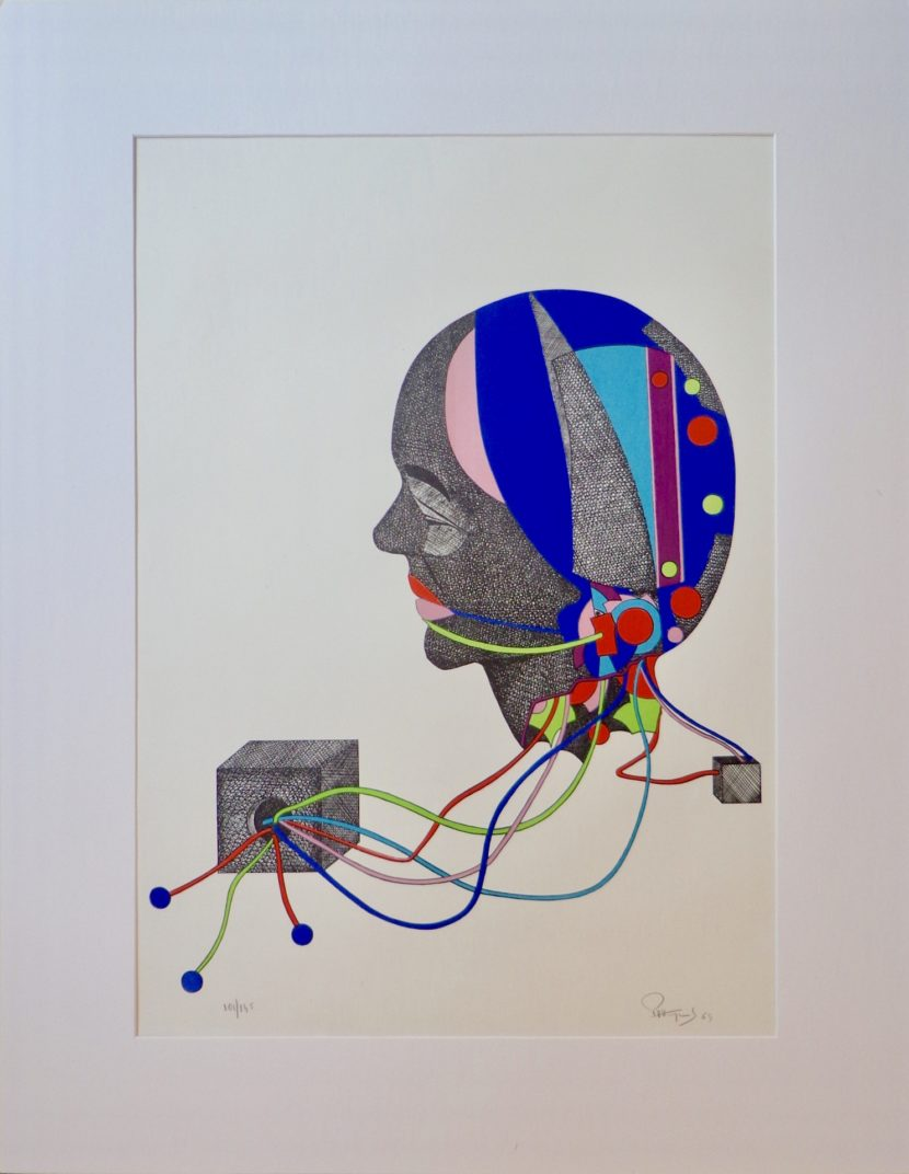 Paul Van Hoeydonck Lithographie 1969